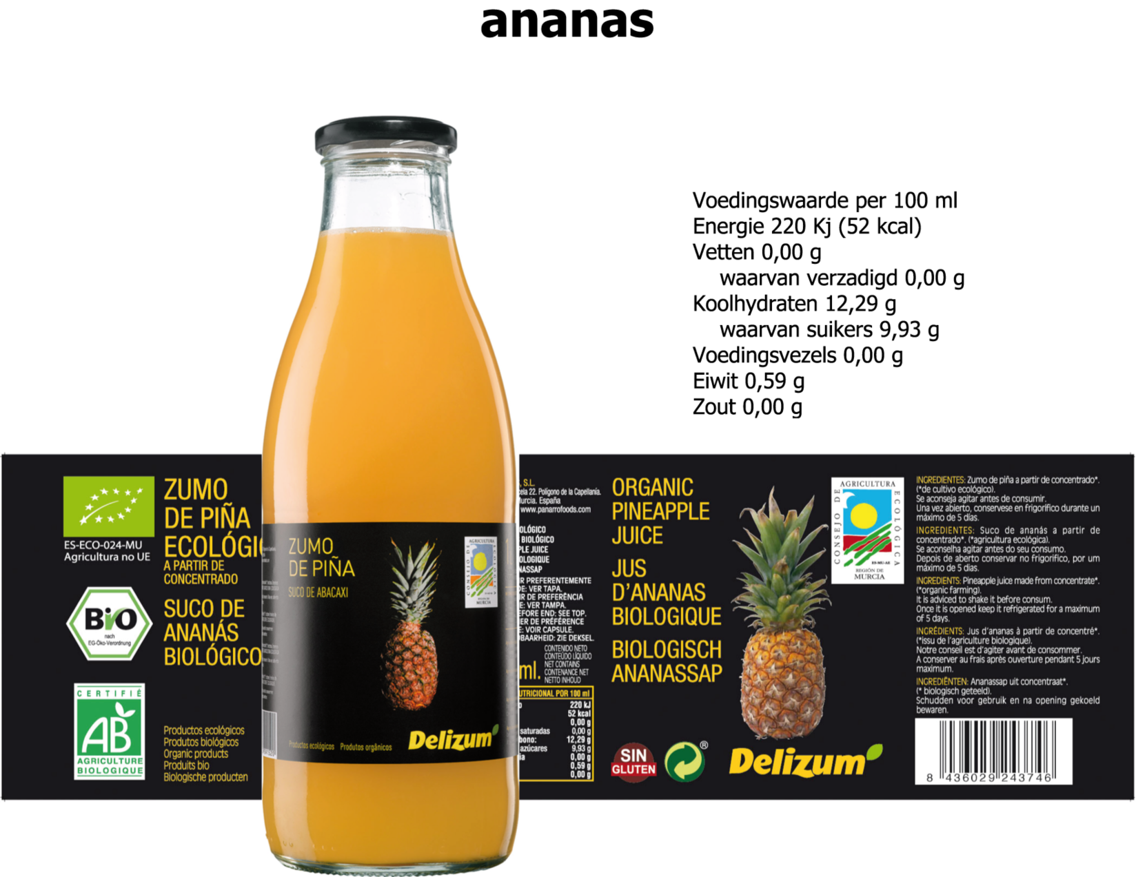 ananas nw